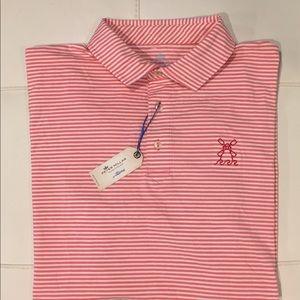 NWT - Peter Millar Half Sleeve Golf Polo